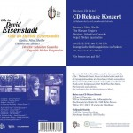Invitation to CD Release Concert